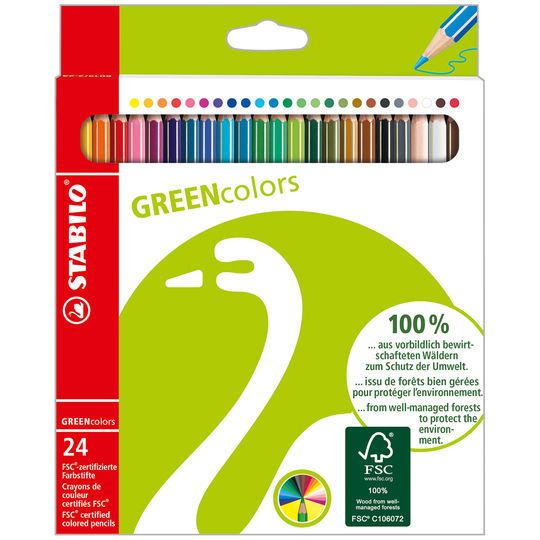 Stabilo Greencolors Pencil Set In Assorted Michaels Colored
