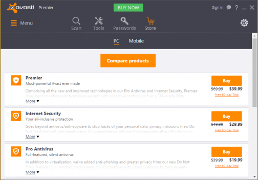 avast premier crack license file