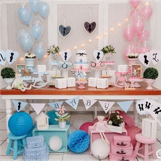 Pin Em Baby Shower Gender Reveal Party Ideas