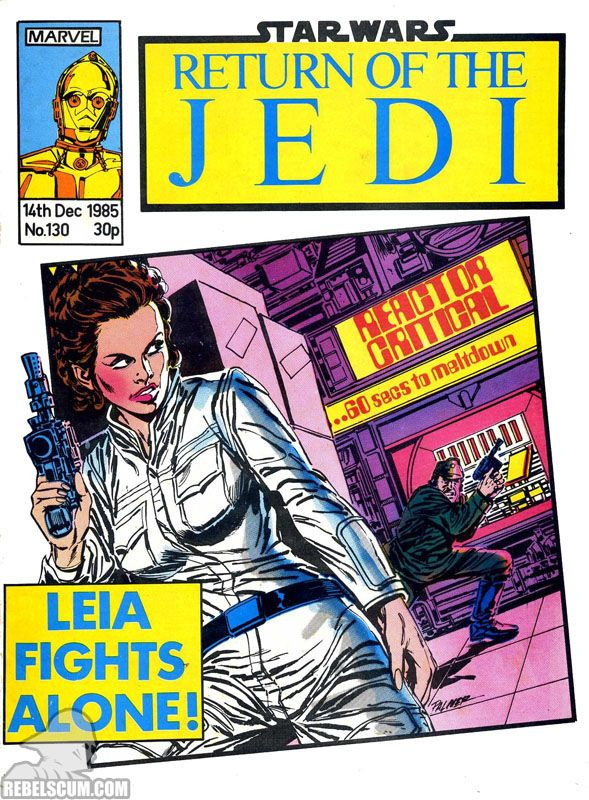 Star Wars: Return of the Jedi Weekly 130