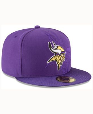 innovative design 4a876 3f4ff New Era Kids  Minnesota Vikings Sideline 59FIFTY Cap - Purple 6 5 8