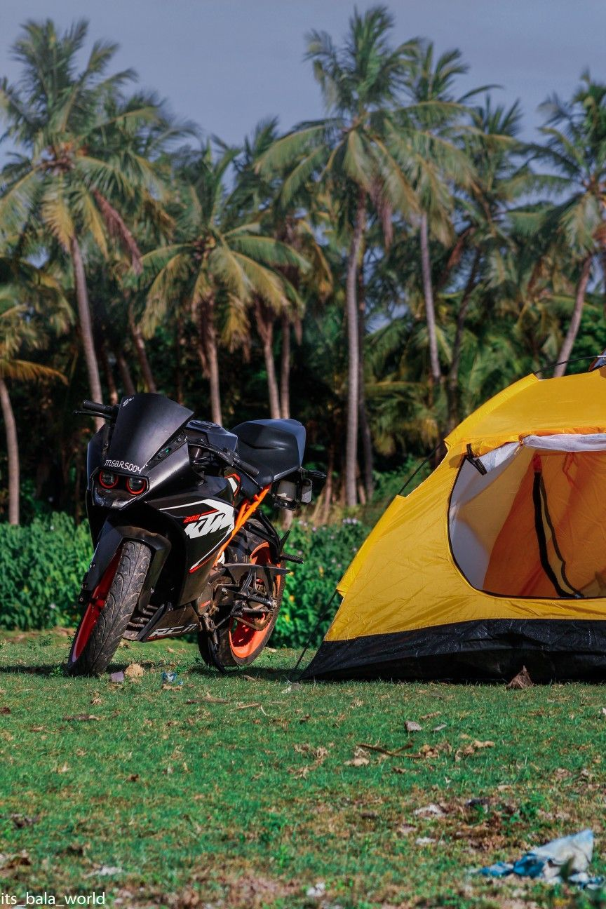 Ktm Rc 200 Camping Ig Its Bala World Tent Camping Tent Ktm