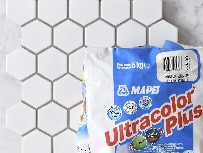 Mapei Grout Ultracolor Plus Medium Grey 5kg Bag - 5kg