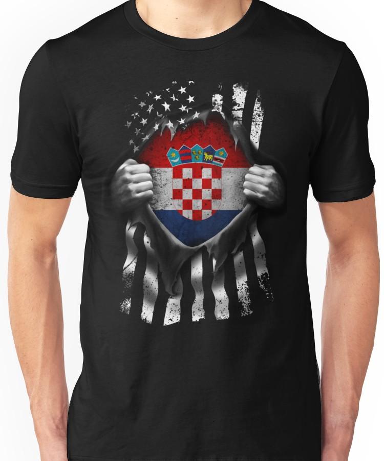 Vazquez Flag Hanes Tagless Tee T-Shirt