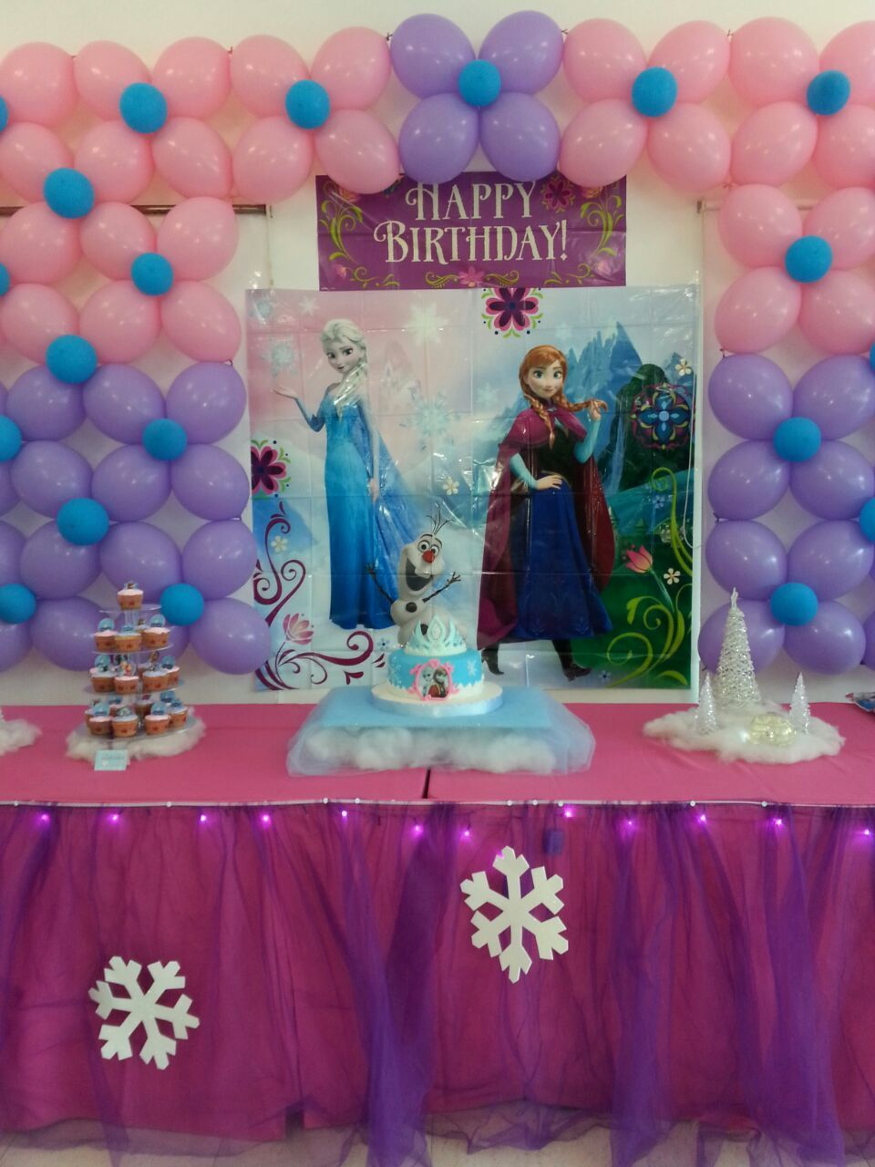 Ideas mesa frozen frozen decoraciones pinterest mesas - Decoraciones para mesas ...