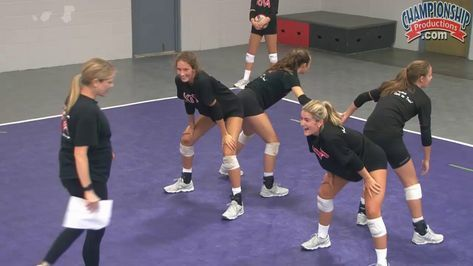 Inside Out Passing Volleyball Drill From Anne Kordes Youtube Volleyball Drills Volleyball Workouts Volleyball Training