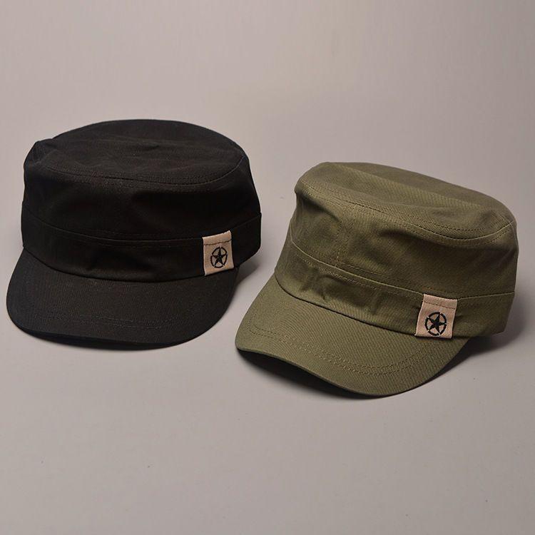 1a4c613b6ba Men Women Classic Adjustable Army Plain Hat Cadet Military Baseball Sport  Cap