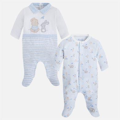 706de8e5b2 Pijamas largos bebé niño recién nacido Cielo vigoré - Mayoral ...