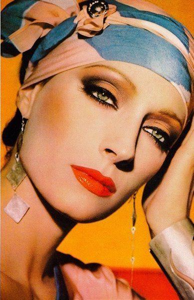 Sara Kapp by Lance Staedler, 1984 | Maquiagem anos 80 ...