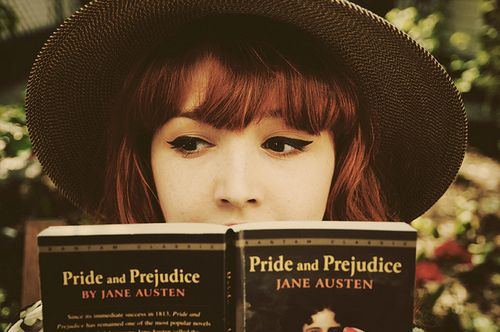 Pride and Prejudice. an all time fave.