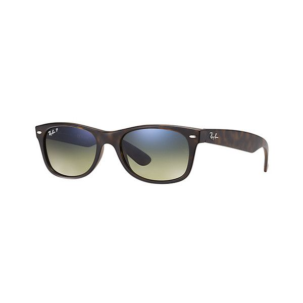 16b1199941f Rayban Ray Ban New Wayfarer Classic ORB 2132 894 7655 Tortoise (£120) ❤  liked on Polyvore featuring accessories