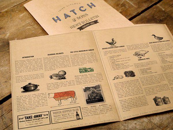 Branding: Hatch & Sons by Revert Design on bloglovin