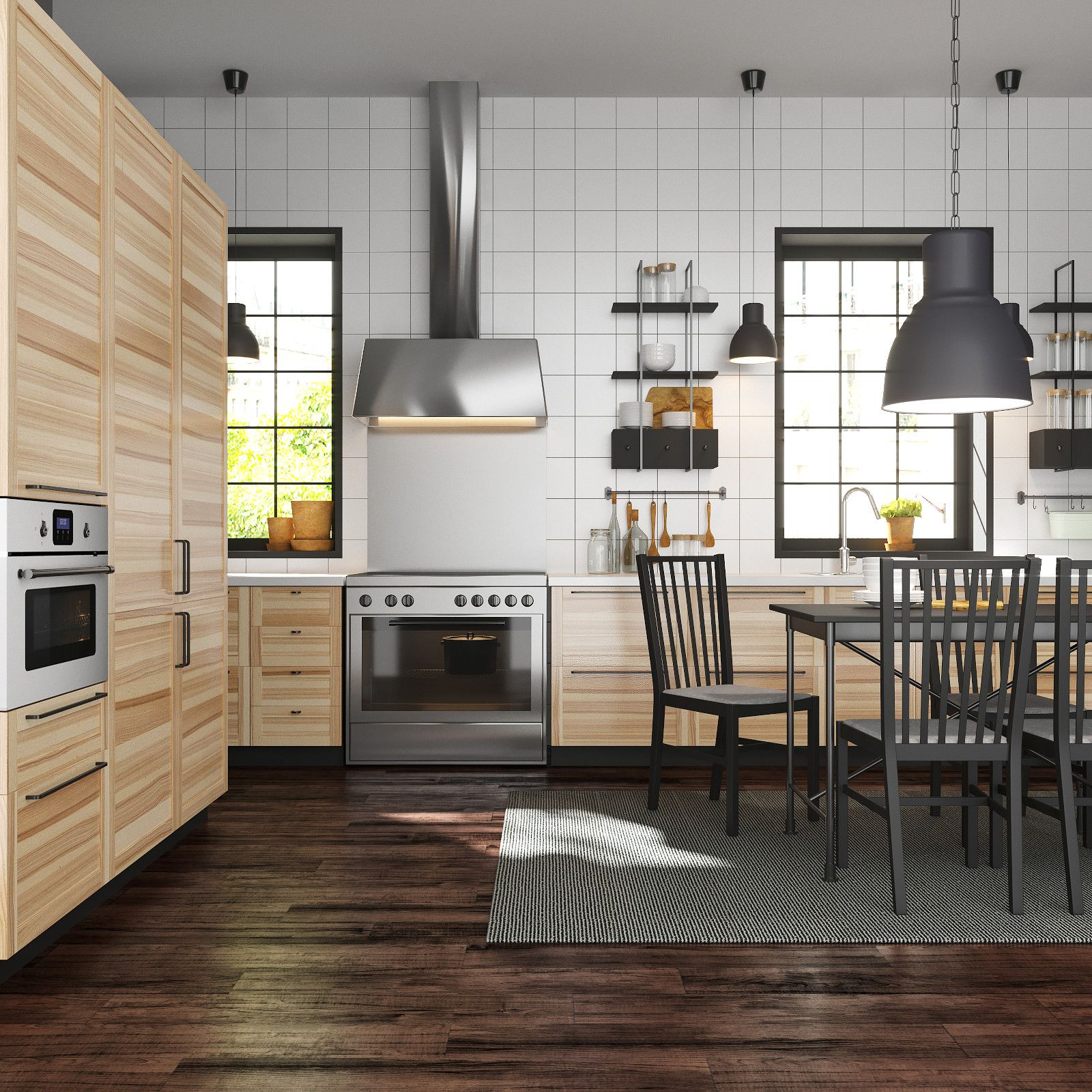 Best 3D Model Ikea Metod Kitchen Torhamn 3D Model 640 x 480