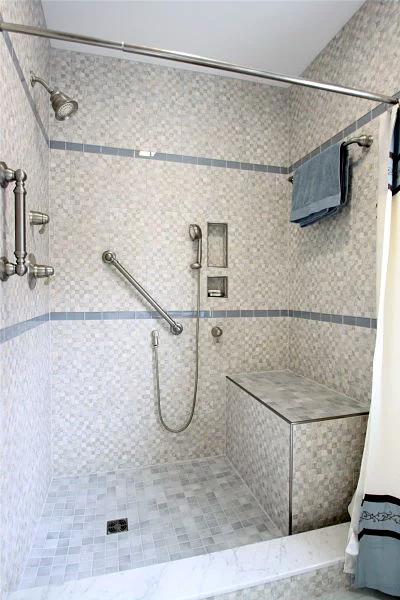 4 Facts To Know About Bathroom Grab Bars Grab Bars In Bathroom Master Bathroom Shower Small Bathroom