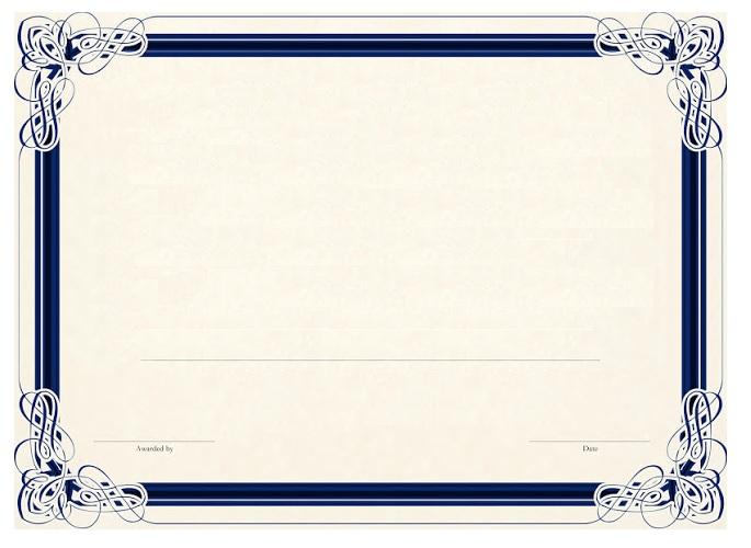 11 Blank Certificate Templates Free Printable Word Pdf Samples Blank Certificate Template Blank Certificate Certificate Templates