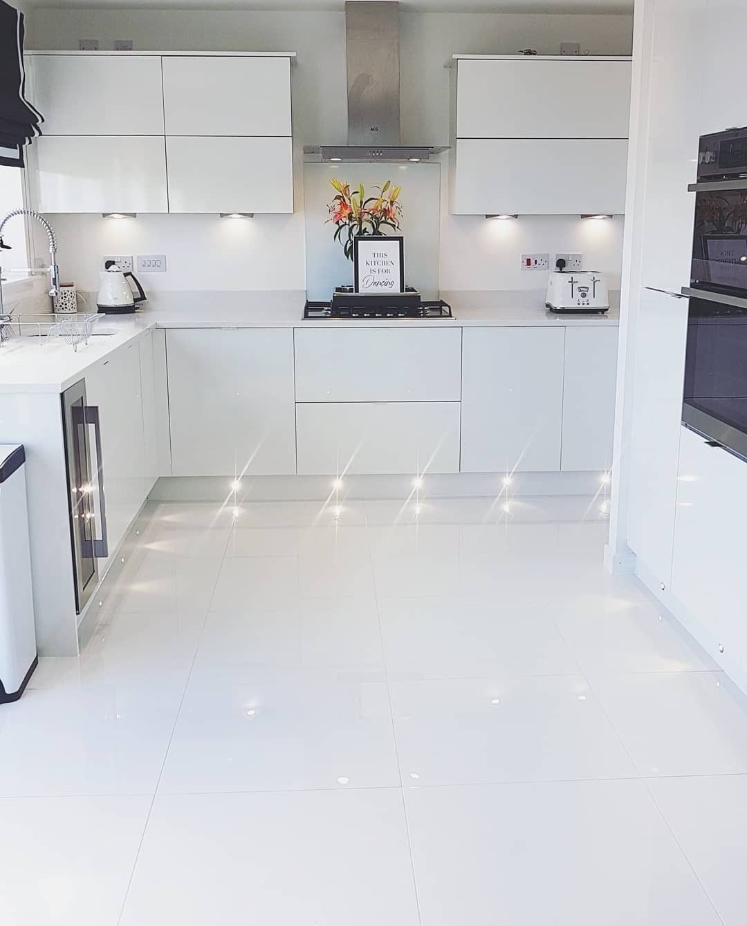 """Tile Mountain on Instagram """"When you're kitchen doubles up a ..."""