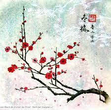 fleur de cerisier dessin - Recherche Google   Tableaux ...