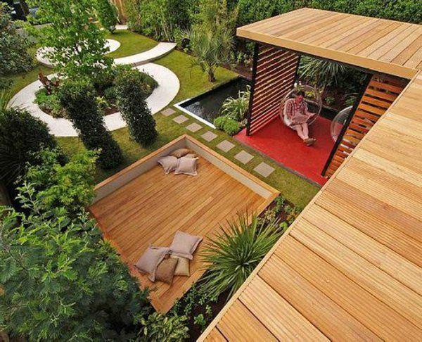 Holz Pergola Garten Moderne Beispiele ? Blessfest.info Holz Pergola Rutikal Garten