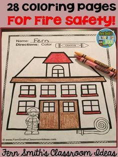 Fire Prevention And Safety Fun Color For Printable Coloring Pages Free Station Dog Page In The Preview October Is