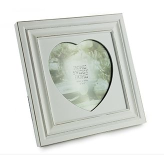 New White Frames for Photo Picture in Square design to wall Hang or Standing.