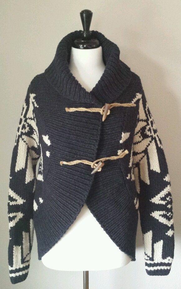 fabb0e825 NWT RARE Ralph Lauren Sun Valley Native Indian Hand Knit Cardigan Sweater   599  RalphLauren  Cardigan