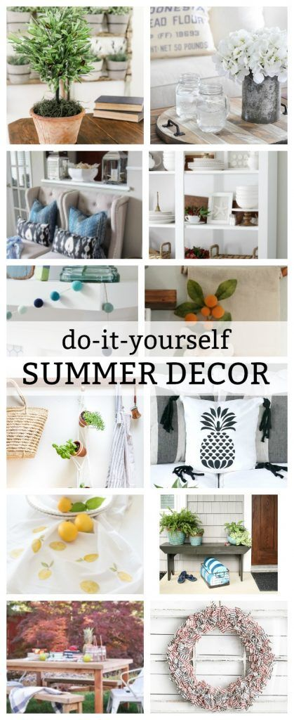 Diy pineapple tassel pillow wall banner banners and diy ideas tons of diy summer decor ideas for your home solutioingenieria Images