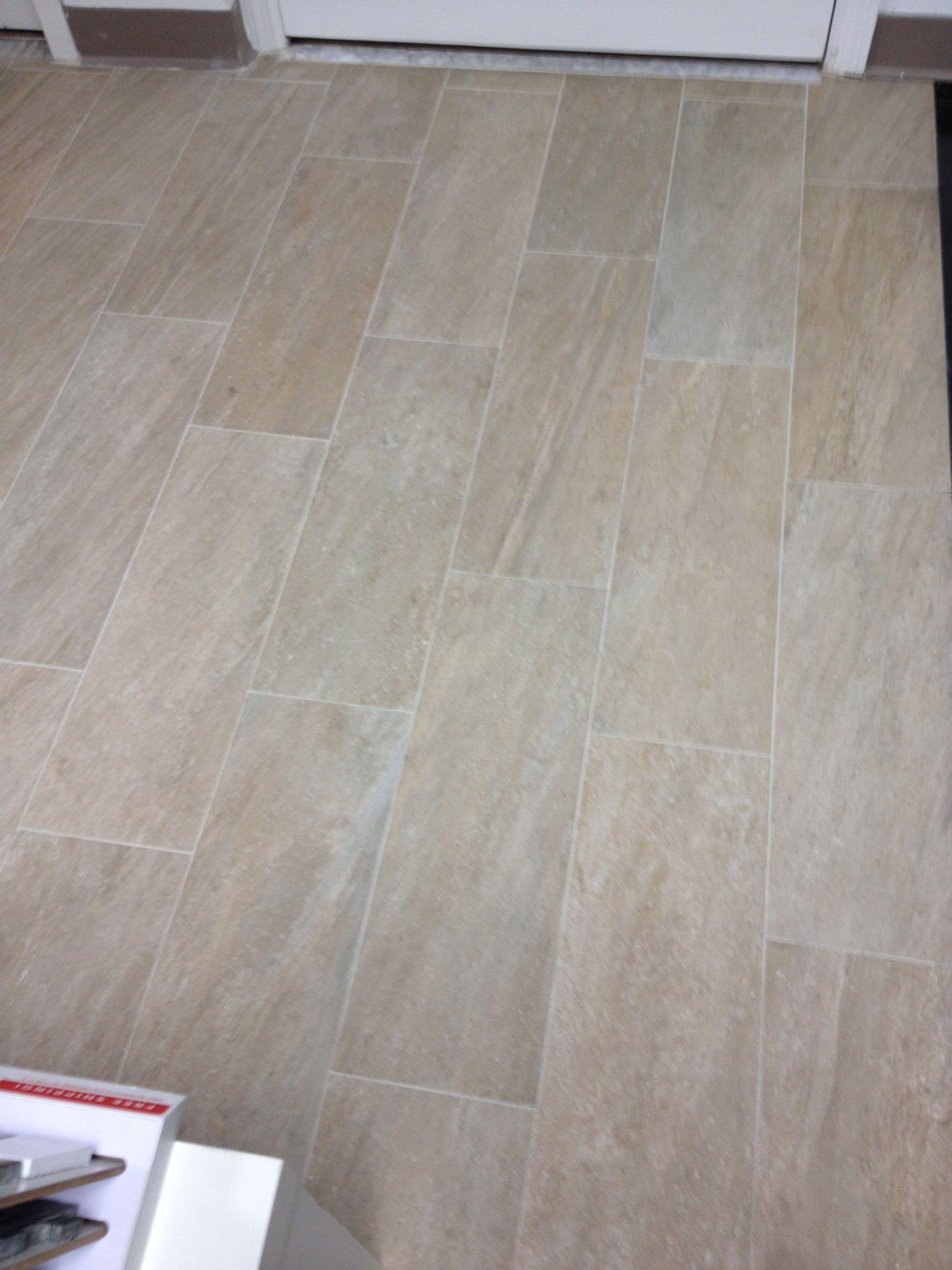 Purchased Lefka Floor Tile With Minimal Grout Lines Tile Floor Flooring Porcelain Floor Tiles