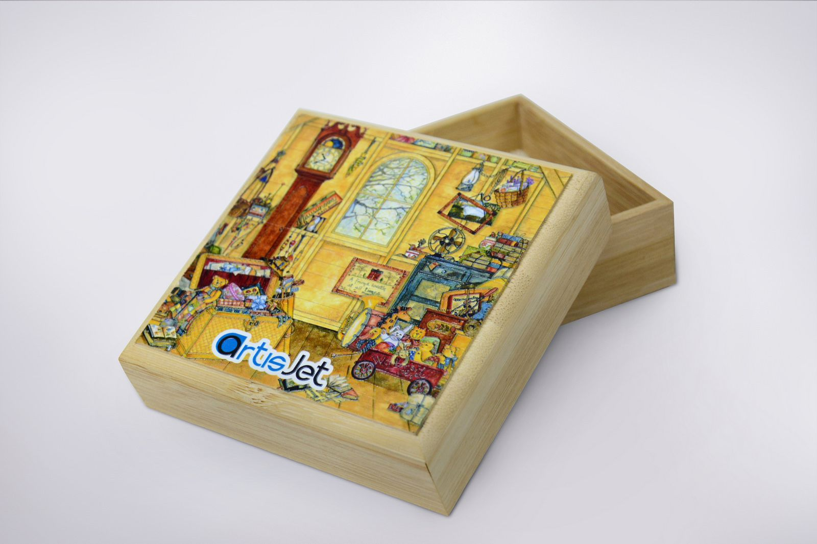 Direct Printing On Wood Boxes Digital Uv Led Direct To