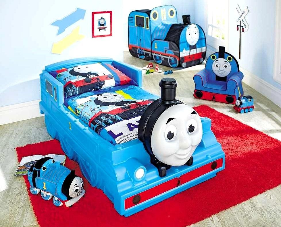 Thomas The Train Bedroom Decorating Ideas Toddler Bed Set Train