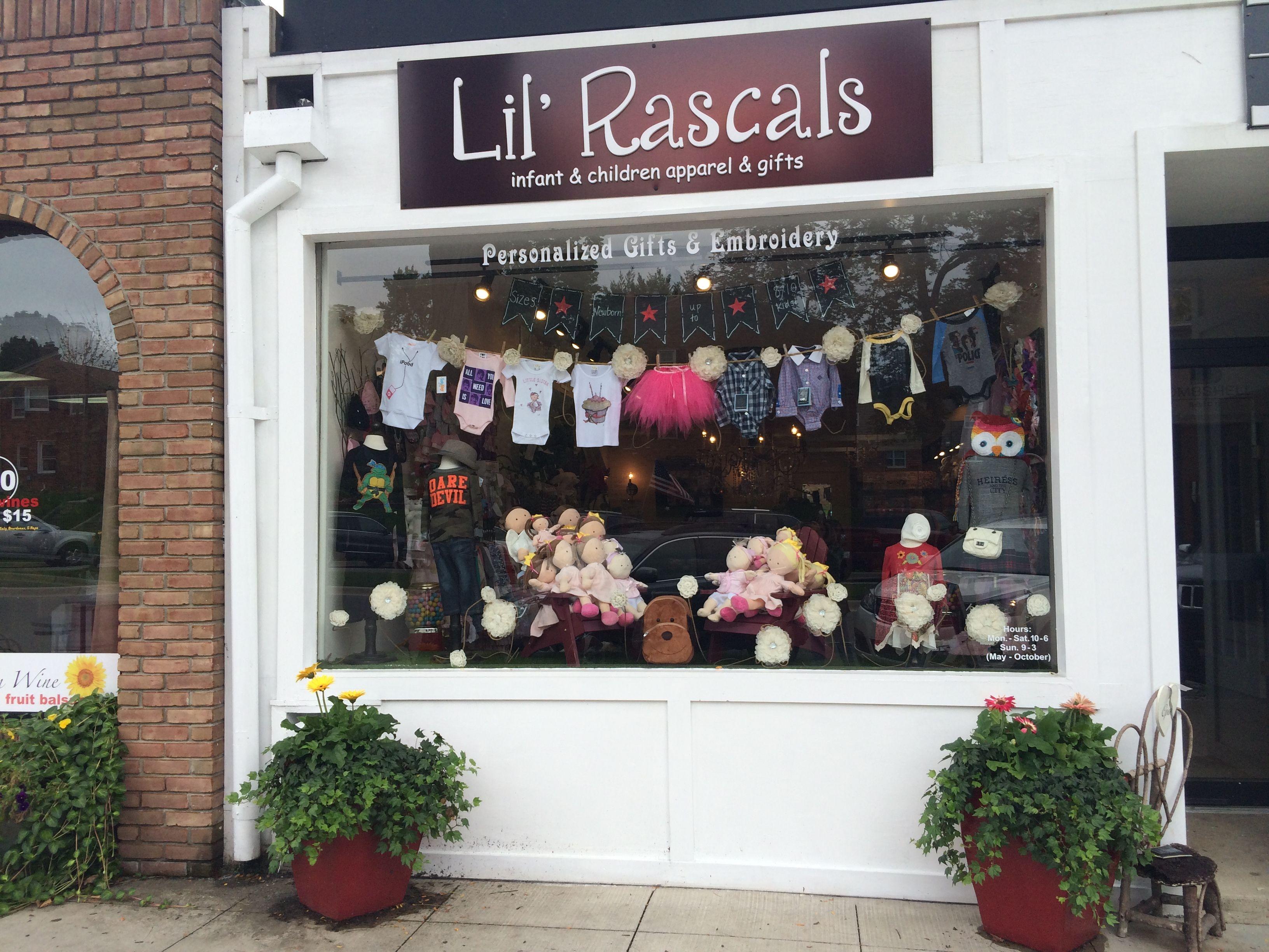 Lil Rascals Kids Shop in Birmingham, Michigan carries a