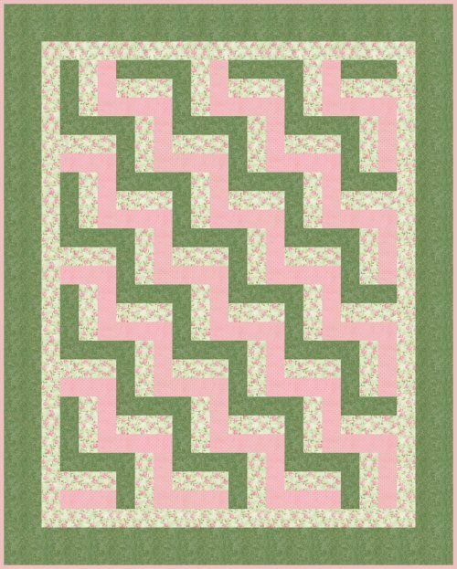 My grandmother makes the baby blankets for every new grandbaby.  Unfortunately, Zoe was one of the last grandbabies to get a quilt, so I will have to make sweet Ellie's baby quilt. I think I'll use this pattern.