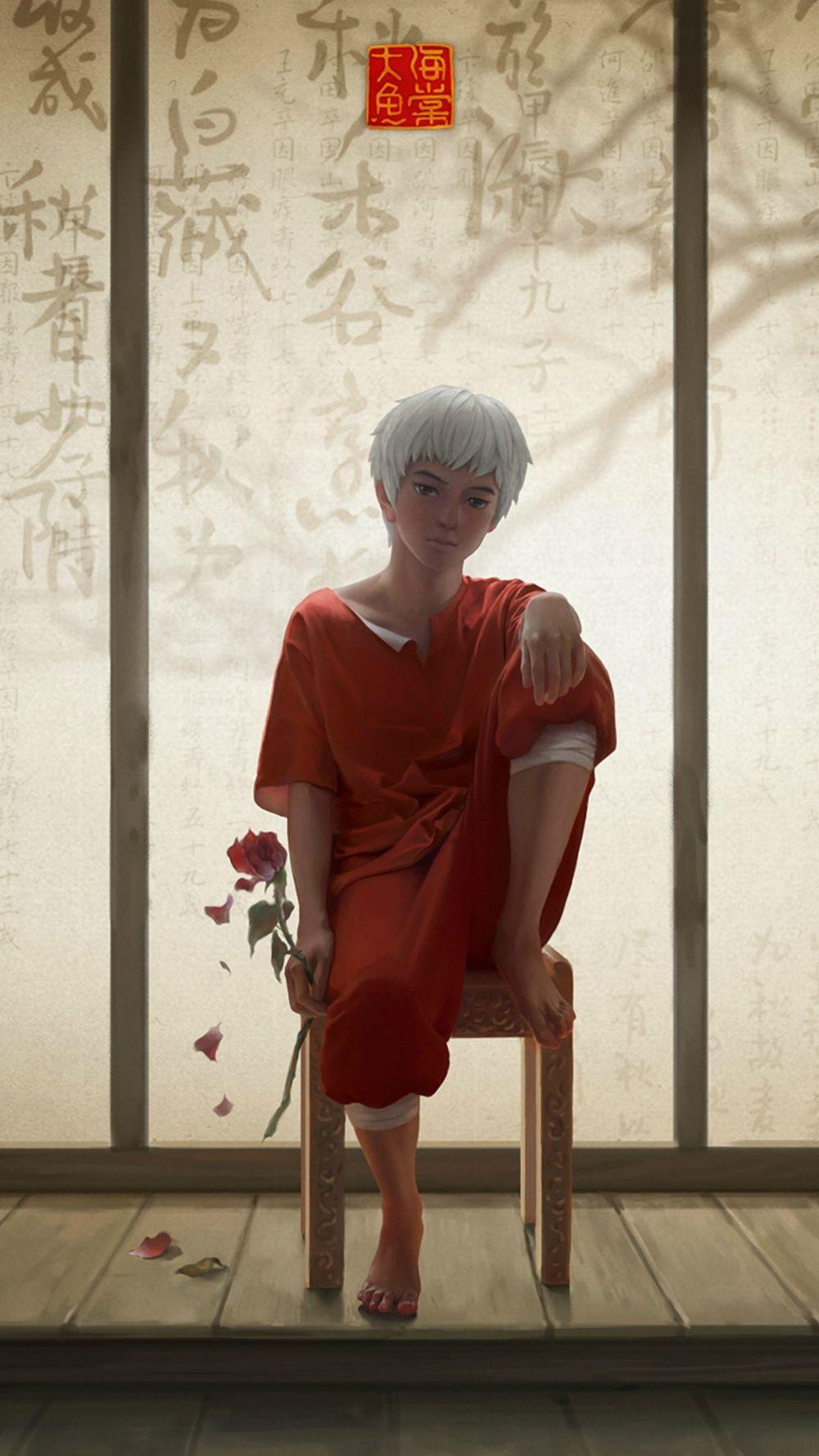 大鱼海棠无水印手机桌面 Desenhos de anime, Anime e Como desenhar anime
