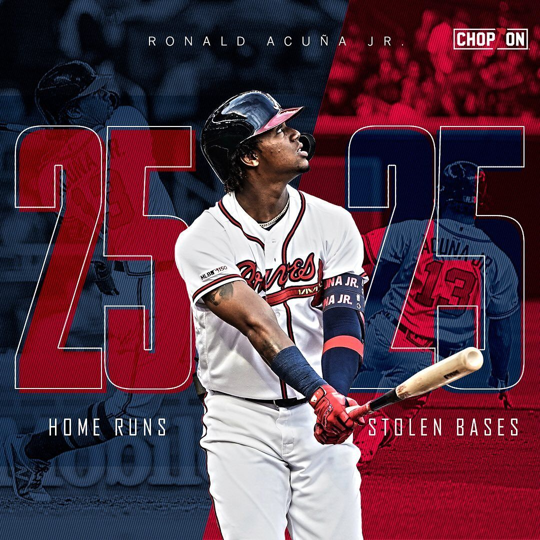 Atlanta Braves Ronaldacuna13 Doing Ronaldacuna13 Things Atlanta Braves Atlanta Braves Baseball First Black Baseball Player