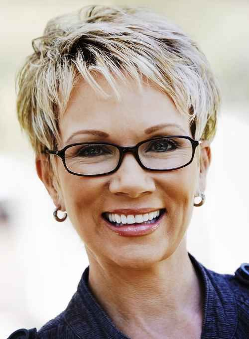 Hairstyles For Grey Hair Round Face Hairstyles For Haircut For Older Women Messy Short Hair Thick Hair Styles