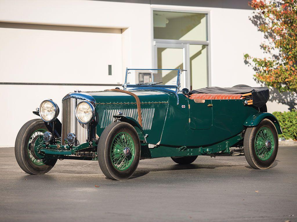 1934 Bentley 3½-Litre Tourer | Old Rides 4 | Pinterest | Collector ...