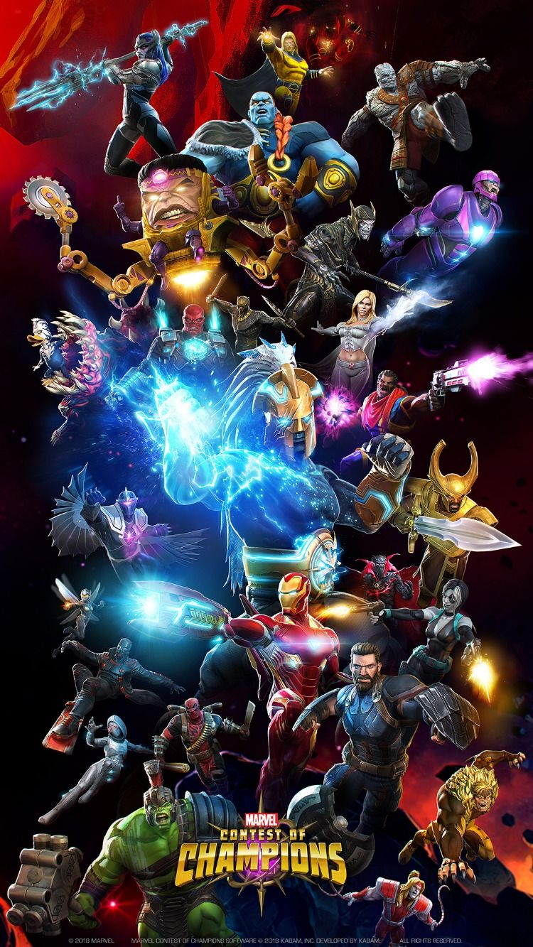 Marvel Contest Of Champions Characters Marvel champions
