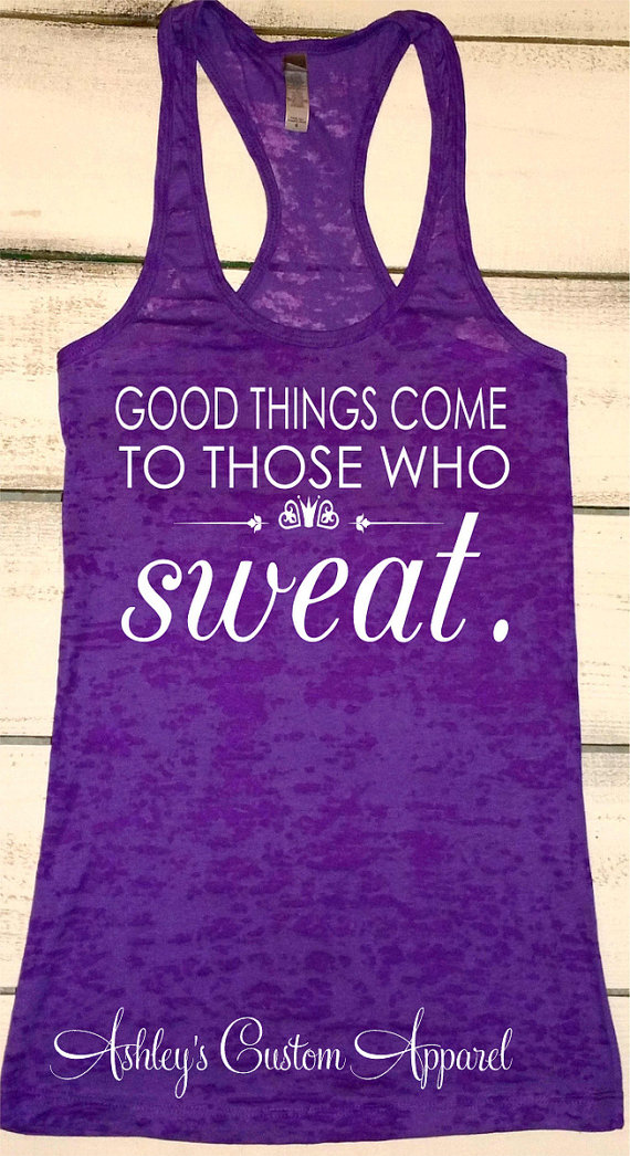 900b5391fca Workout Tank Tops - Inspirational Quotes and Sayings - Running Tanks -  Womens Fitness Apparel - Moti