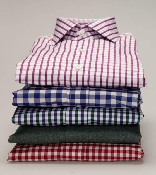 gingham shirts...necessary staple.