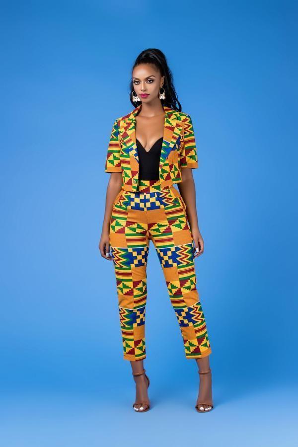 Fabba African Print Hosen #afrikanischemode Fabba African Print Hosen, #african …
