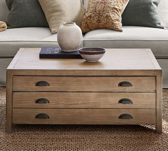 Architects Reclaimed Wood Coffee Table Coffee Table Wood Coffee Table Pottery Barn Reclaimed Wood Coffee Table
