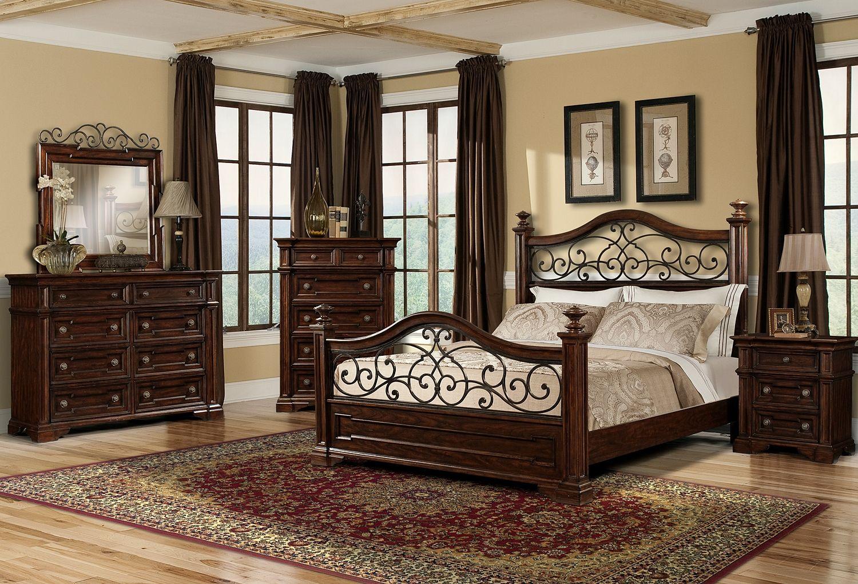 Best Roomstore Com Sorento Bedroom 7 Pc Queen Bedroom For 640 x 480