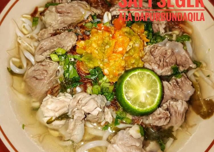 Resep Soto Sapi Seger Soto Boyolali Ala Dapur Bundaqila Oleh Yuanita Kusuma Dewi Dapurbundaqila Resep Resep Memasak Resep Masakan
