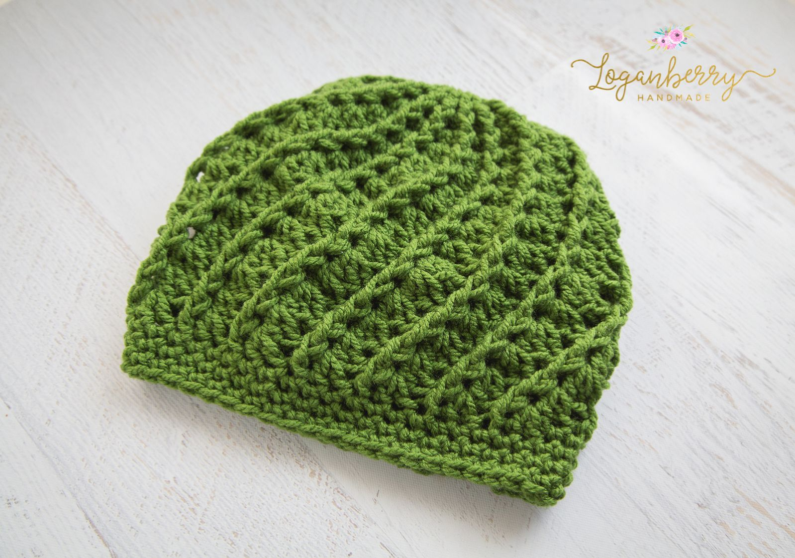 Free Crochet Pattern Spiral Crochet Beanie, Crochet Beanie Tutorial ...