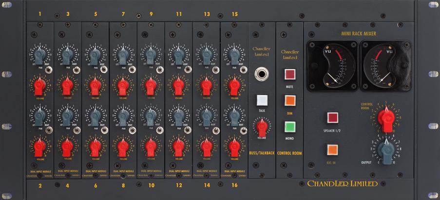 Mini Rack Mixer Chandler Limited Music Recording Equipment Recorder Music Chandler