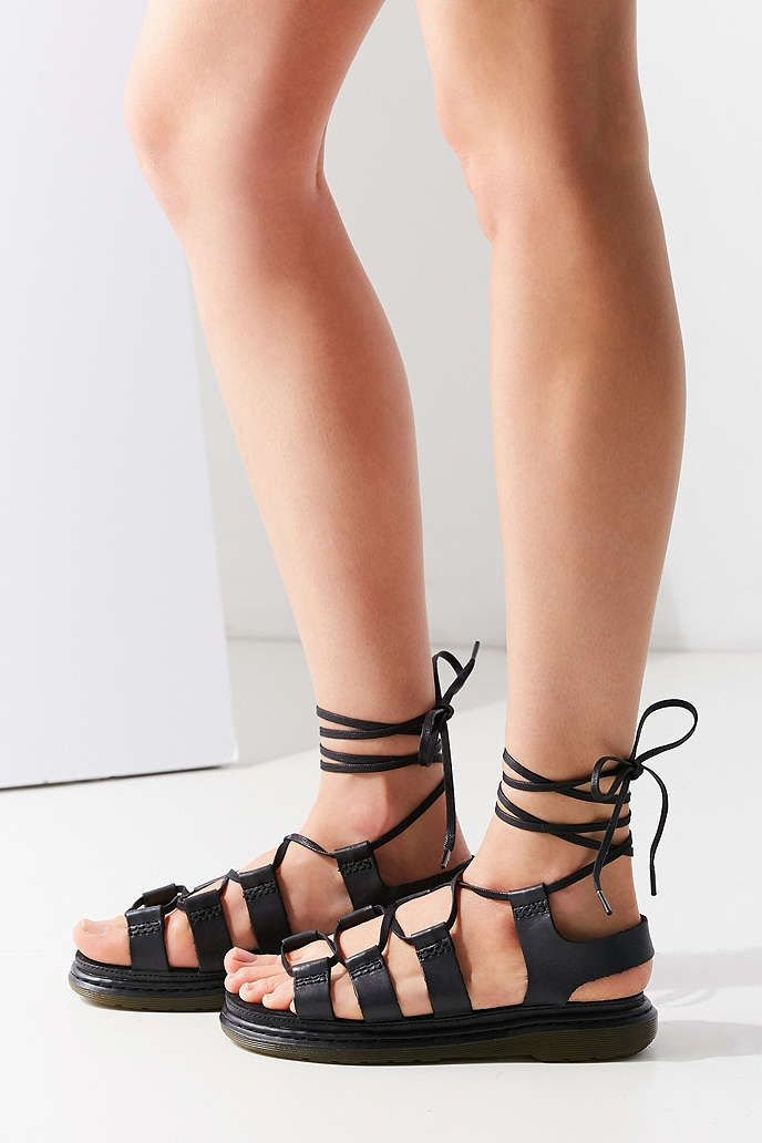 52bd9a40c773 Dr. Martens Kristina Ghillie Sandal - Urban Outfitters