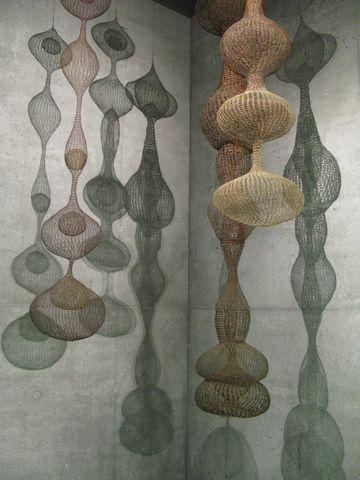 Ruth Asawa, sculptor, textile artist