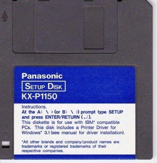 Panasonic kx p1150 win8 driver.