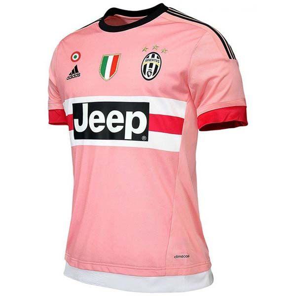 15-16 Juventus Away Pink Soccer Jersey Shirt | Juventus Jersey Shirt sale |  Gogoalshop