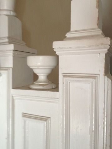 Antique details show craftsmanship that is know only found in custom homes