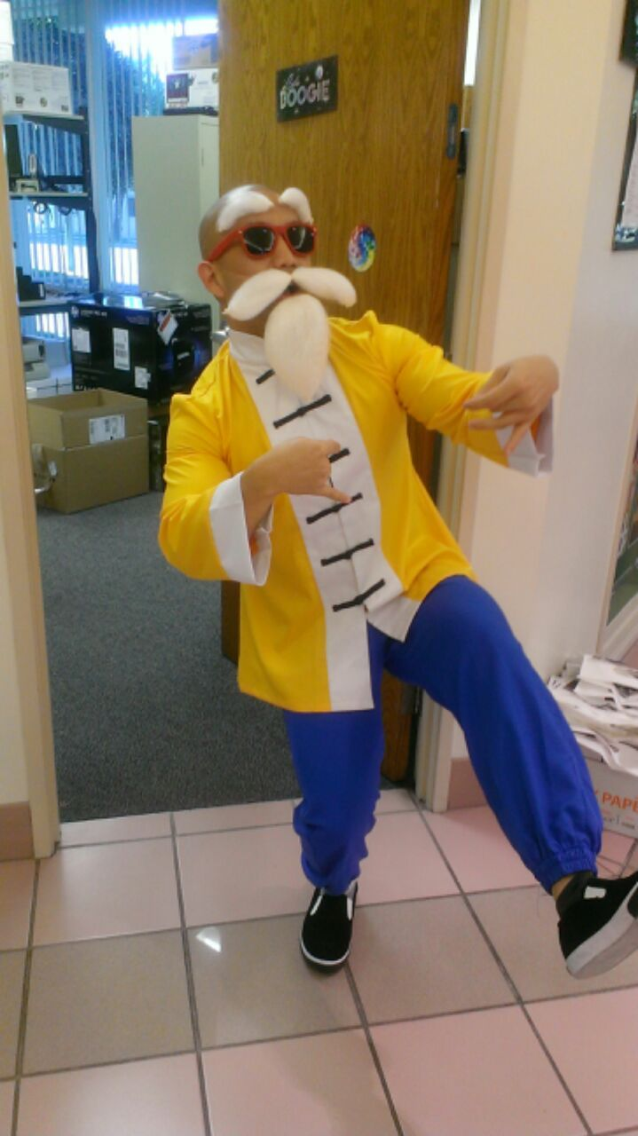 Master Roshi Cosplay Best Cosplay Funny Pictures